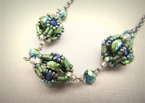 the bead jewelry the caged bead beaded bead tutorial by labellajoya craftsy