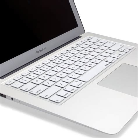 Macbook Pro White kuzy white keyboard cover silicone skin for macbook pro 13 quot 15 quot 17 quot with or w out retina