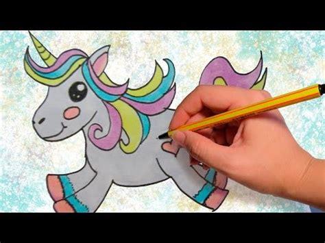 imagenes de unicornios hechos a lapiz como dibujar un unicornio kawaii dibujos para ni 241 os paso
