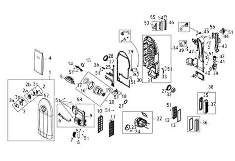 riccar vacuum parts diagram riccar radiance 8 vacuum repair parts tools
