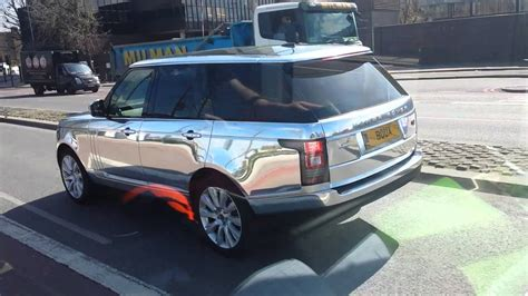 black chrome range rover chrome range rover