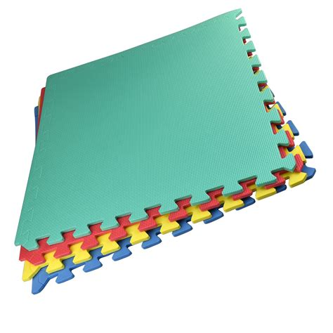 Interlocking Play Mat by Soft Foam Floor Mats Interlocking Exercise