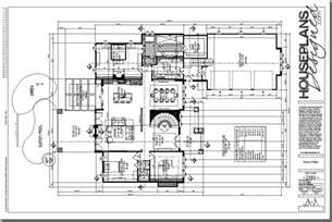 Floor Plan Design Autocad House Plan Dwg Autocad Drawing