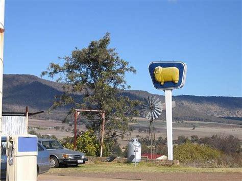 australian iconic golden fleece sign  maryvale queensland australia vate history