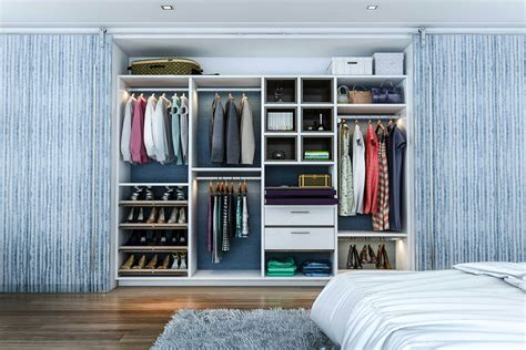 Closet Systems With Doors 67 Reach In And Walk In Bedroom Closet Storage Systems