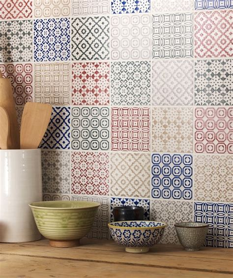 Patchwork Tiles - top 15 patchwork tile backsplash designs for kitchen