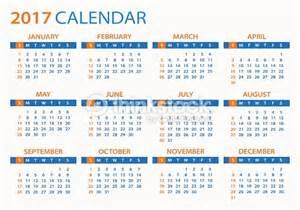 El Salvador Kalendar 2018 Calendar 2017 Illustration Vector Thinkstock