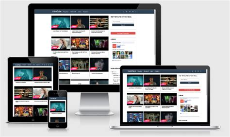 vube tube blogspot template for video sharing top