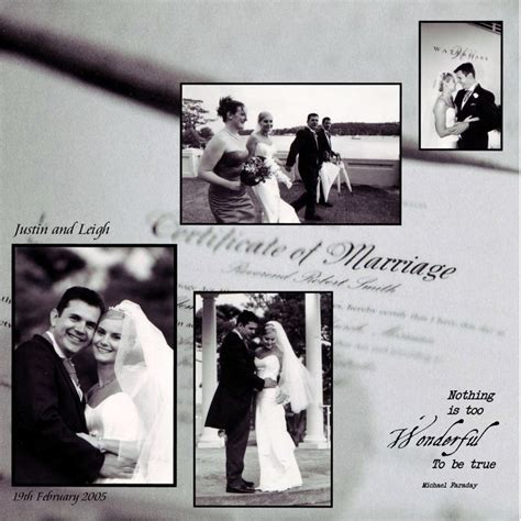 sle wedding photo book layout 17 best images about wedding scrapbook page ideas on