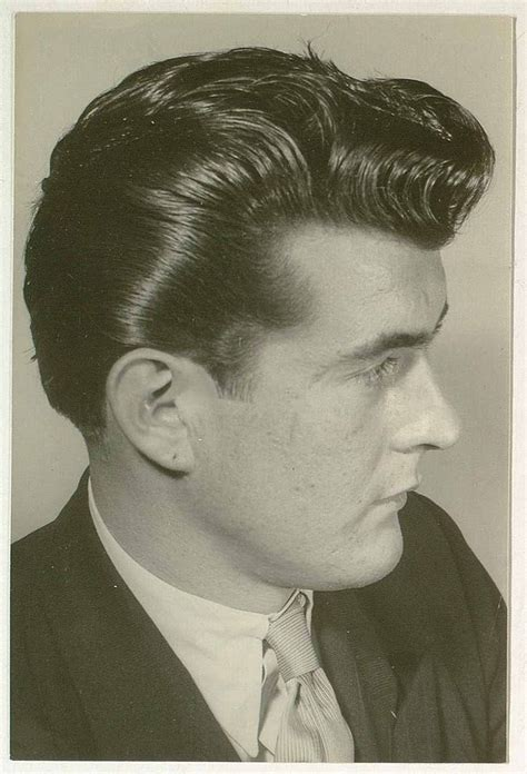 mens hairstyles in the 50s 50s men s hairstyle vintage hairstyles gents pinterest