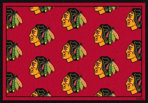 chicago blackhawks rug nhl logo rugs hockey logo mats sports rugs