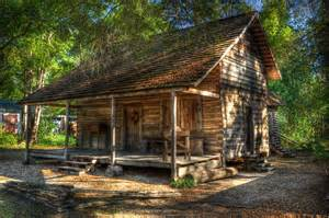 Log House by 1870 Rufus Smith Log House Thomas County Historical