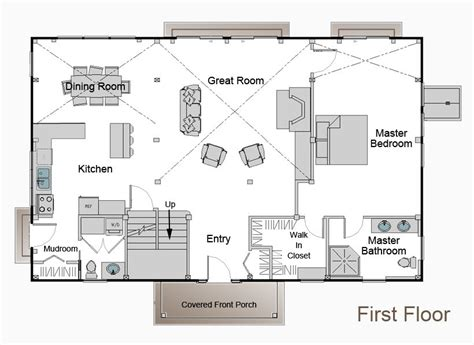 This Is The Floor Plan With Master Downstairs I Want To Metal Pole Barn House Floor Plans