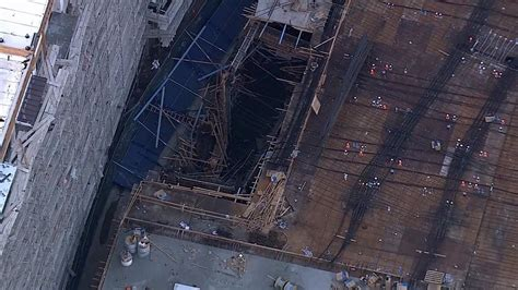 Floor Collapse by 7 Hurt After Collapse At Downtown Los Angeles Construction