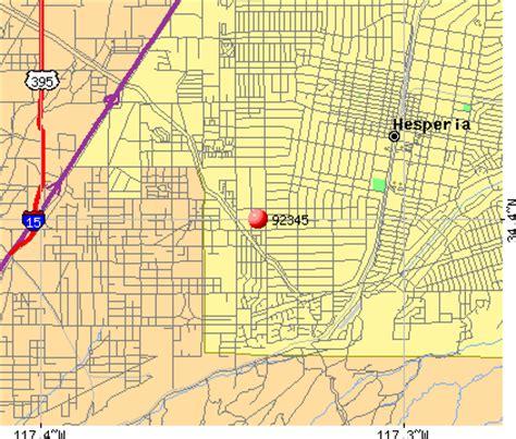 zip code map victorville ca hesperia california ca 92344 92392 profile population
