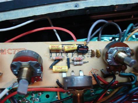vtv ultra tone capacitors vintage eg eg tone stack modification