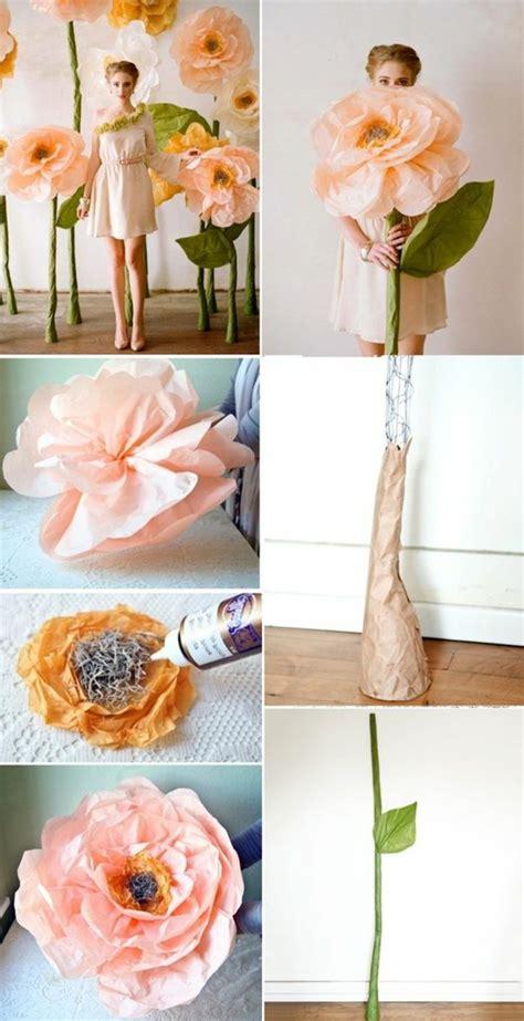 Faire Des Pompons En Papier by Fabriquer Une Fleur En Papier De Soie 67 Id 233 Es Diy
