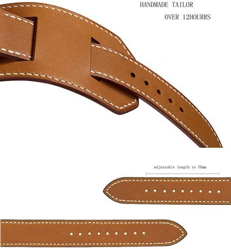 Hoco Series Genuine Leather For Apple Series 1 2 3 hoco series genuine real leather for apple 42mm series 1 2 3 brown