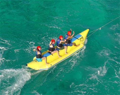 banana boat ride safe accommodations