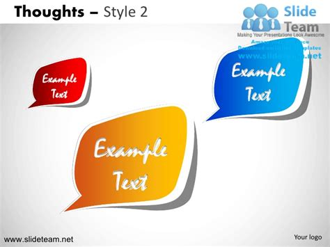 Thoughts Call Outs Voices Design 2 Powerpoint Ppt Slides Ppt Slide 2