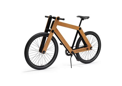 design milk bike sandwichbike a flat packed wooden bicycle design milk
