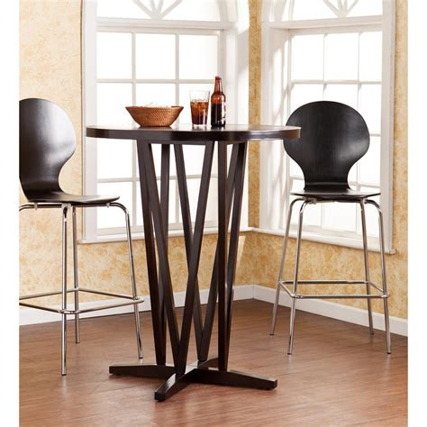 Espresso Bar Table Southern Enterprises Huran Espresso Pub Bar Table Hd038957 The Home Depot