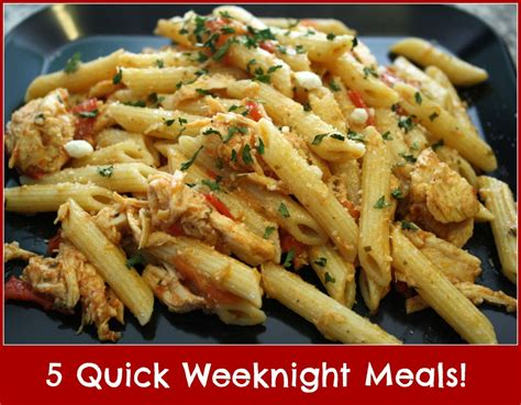 5 quick weeknight meals detours in life