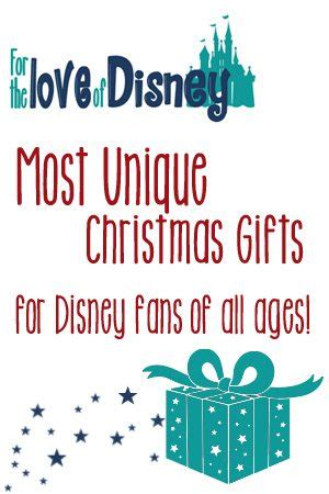 unique christmas gifts for the disney fan delightful life