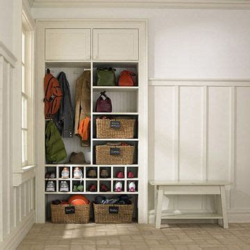 shoe and coat storage solutions 17 best images about ideas for our basement on