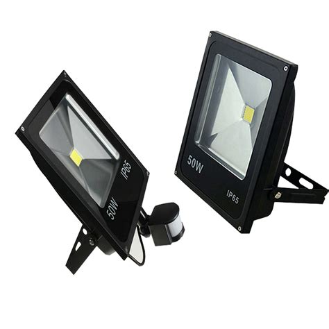 Taffware Led Floodlight 20w Without Pir מוצר 10w 20w 30w 50w led motion sensor flood lights pir floodlights induction sense reflector