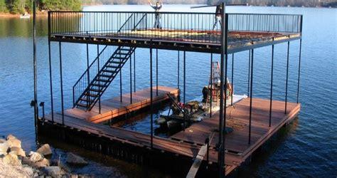 floating dock boat slip single slip boat docks boat dock works