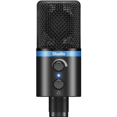 Irig Mic Studio ik multimedia irig mic studio portable ip irig micstdbla in b h