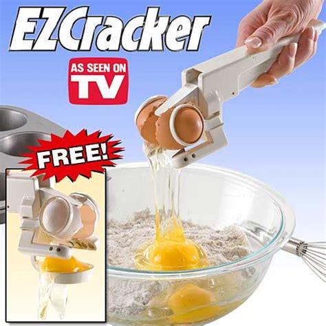 ez cracker egg separator holds the shells craziest gadgets