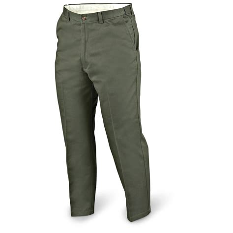 comfort waist mens jeans 29 quot inseam haggar 174 flat front comfort waist pant 142031
