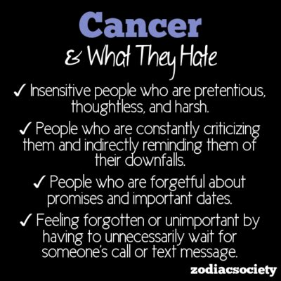 what cancer hates except for that last one i could