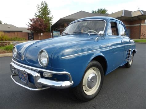 renault dauphine for sale 1959 renault dauphine quot us export quot for sale photos