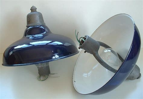 Vintage Gas Station Island Lights Revere Gas Station Island Light 20 Quot Blue Porcelain Industrial Sign L Ebay