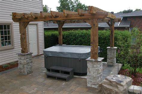 pergola tub 21 innovative tub pergolas pixelmari