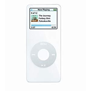 The Office Signed Ipod Nano by Apple Ipod Nano 4 Gb White 1st Generation Model