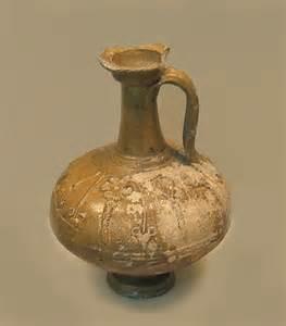 Historical Vases File Roman Pottery Glazed Flagon Jpg Wikimedia Commons