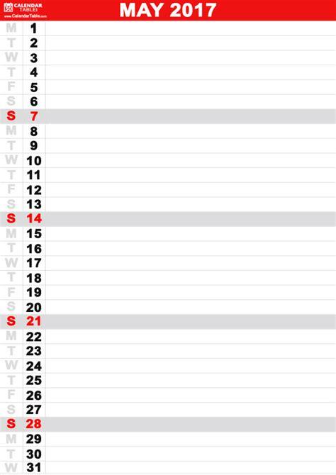 printable calendar calendartablecom