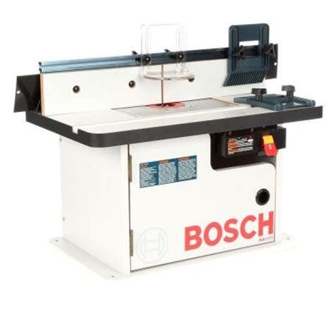 Bosch Benchtop Router Table by Bosch Benchtop Laminated Router Cabinet Style Table Ra1171