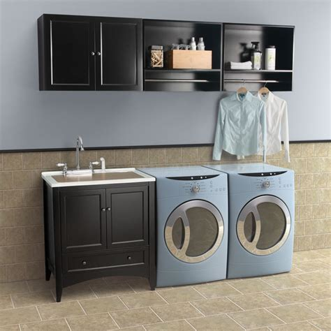 Laundry Room Vanity Cabinet Berkshire Laundry Sink Vanity By Foremost Contemporary Laundry Room New York By Foremost
