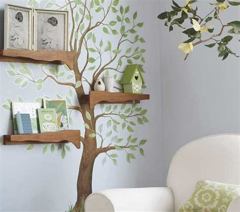 Wall Mural Ideas by 24 Modern Interior Decorating Ideas Incorporating Tree