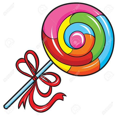 free clipart vector lollipop clipart vector pencil and in color lollipop