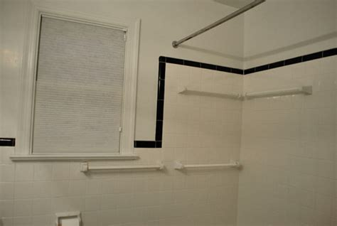 Shower Door Molding by How To Conceal Damaged Tile House