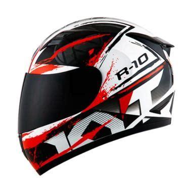 Kyt R10 Aqua Blue By Crucify helm kyt r10 terbaru di kategori helm blibli