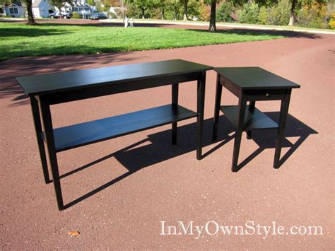 Staining Furniture by How To Paint Glossy Furniture Without Sanding Home