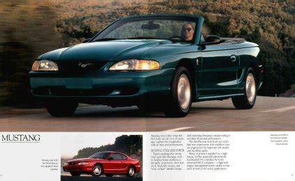 old cars and repair manuals free 1995 ford ranger user handbook ford mustang 1995
