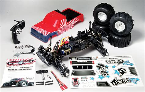 nitro circus monster truck review basher hobbyking nitro circus